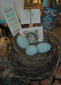 Nest in display window featuring sample event cards.